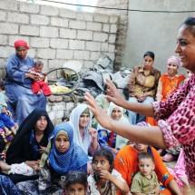 a female activist farmer