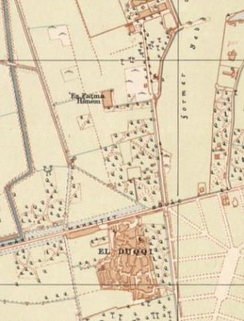 Historic map Awlad Allam