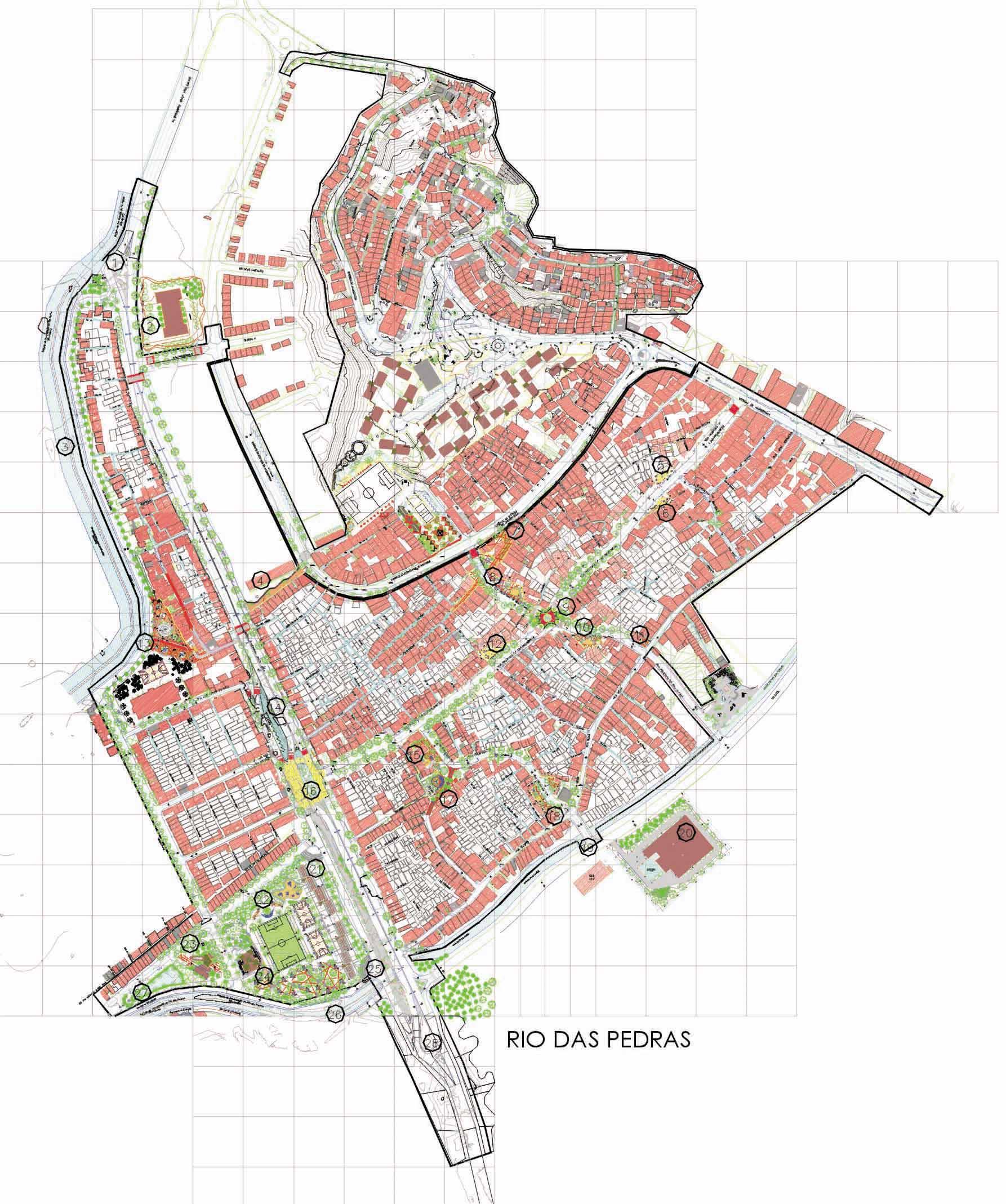 Plan for RIO-DAS-PEDRAS