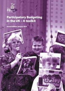 Participatory Budgeting in the UK-A toolkit