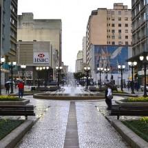 Rua XV de Novembro Pedestrian Zone - Radames Manosso - Flickr