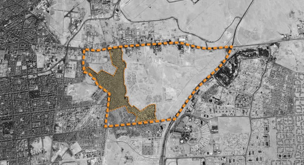 Borders of 'Izbit Al-Haggāna