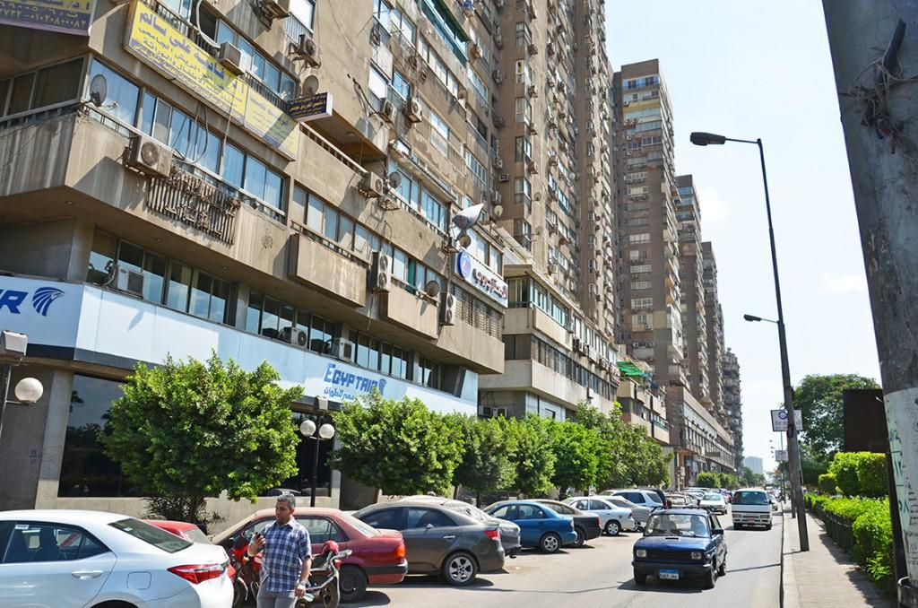 أبراج أغاخان على النيل في شبرا