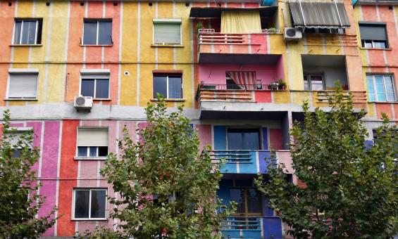 Mulicolor Building - Tirana, Albania - Stanek, Small