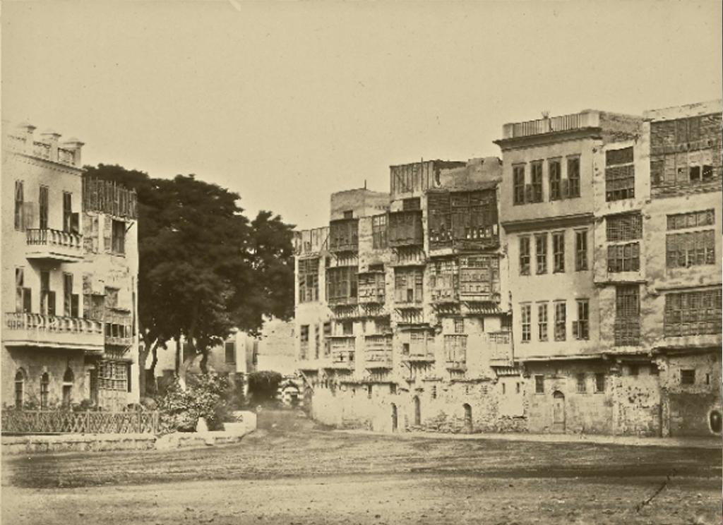 بيوت قبطية بالأزبكية (١٨٦٠-١٨٦٣)