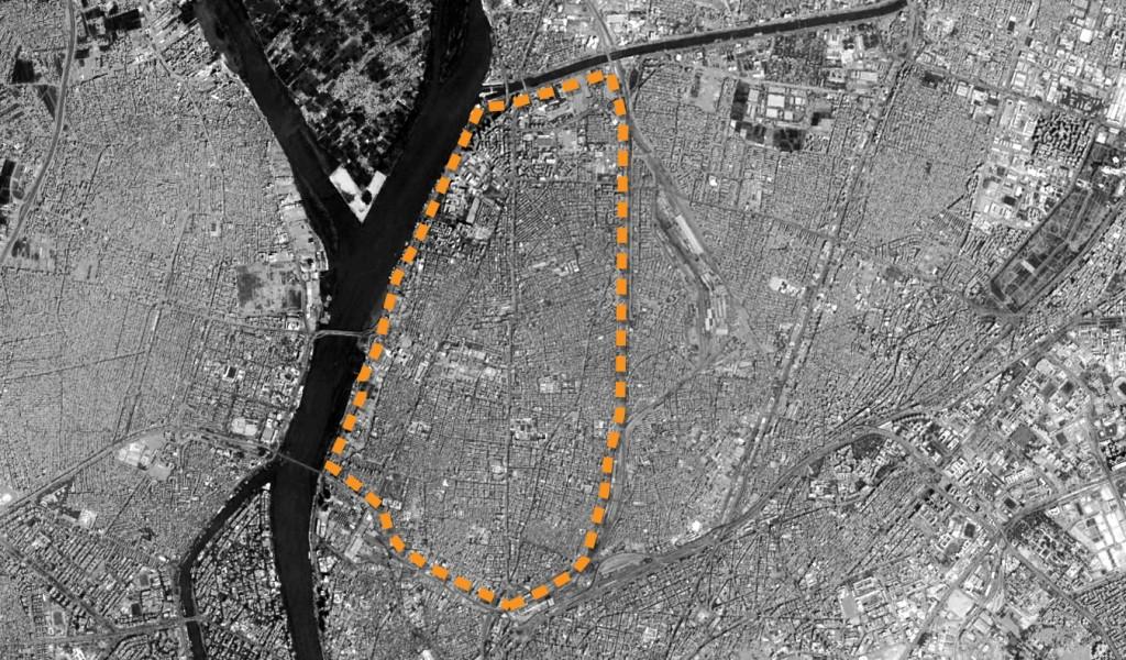 حدود منطقة شبرا