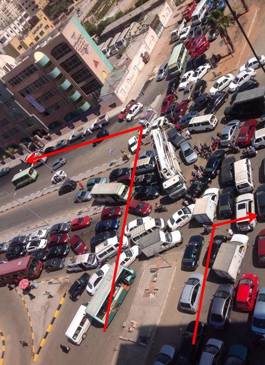 Mostafa Al-Nahhas street. Photo source : @Muhamed3amr