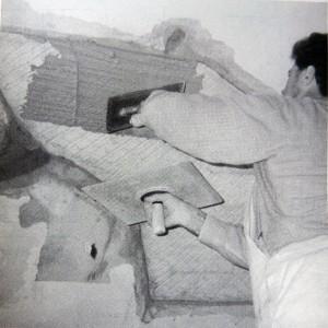 second plaster coat