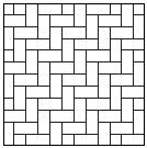 Figure 8: 90-degree herringbone block pattern Source : Ideal, n.d.