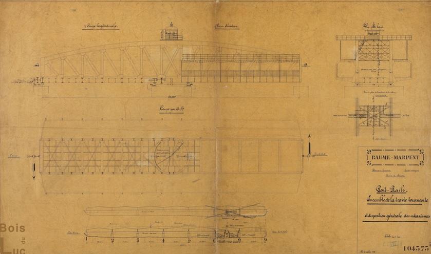 كوبري إمبابة، رسم الجزء المتحرك من الكوبري.