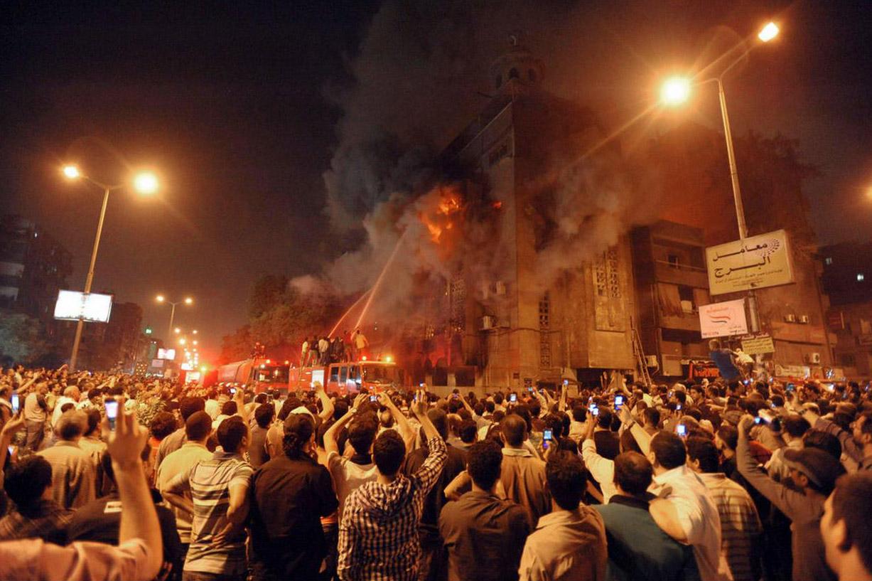 حريق كنيسة بامبابة