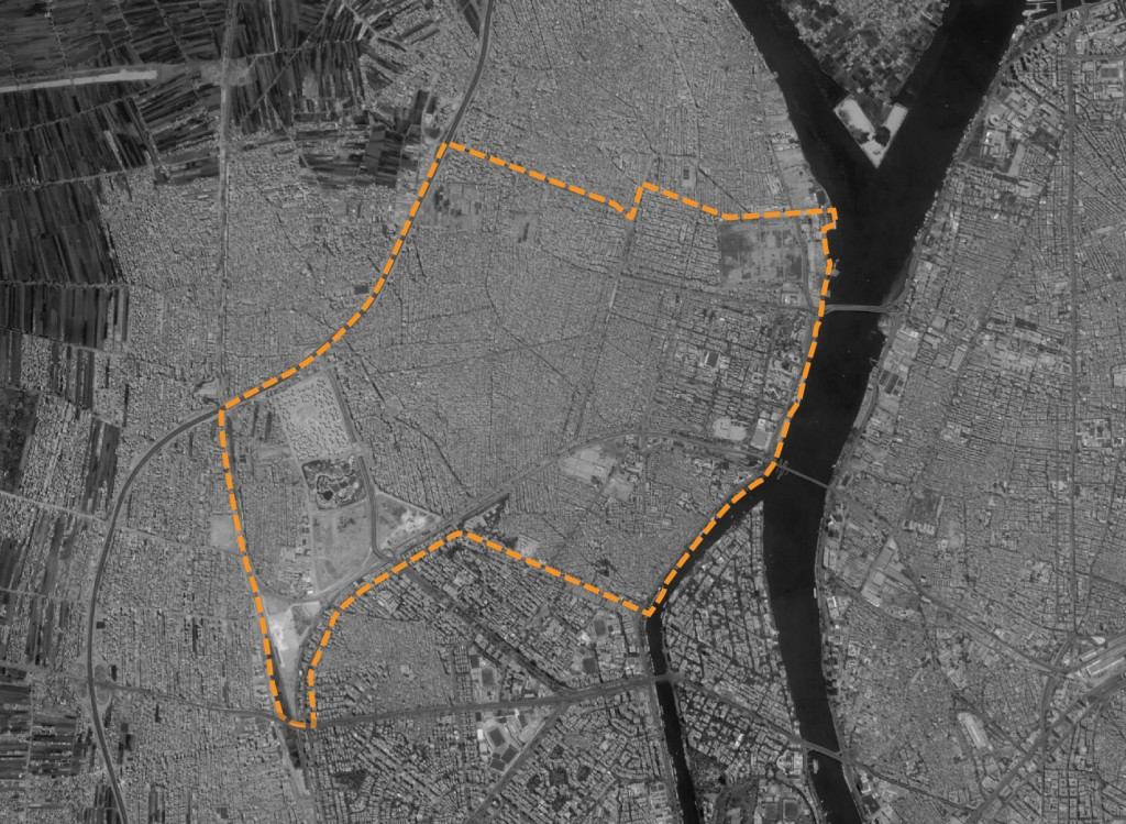 حدود منطقة امبابة – رسميًا حي شمال الجيزة