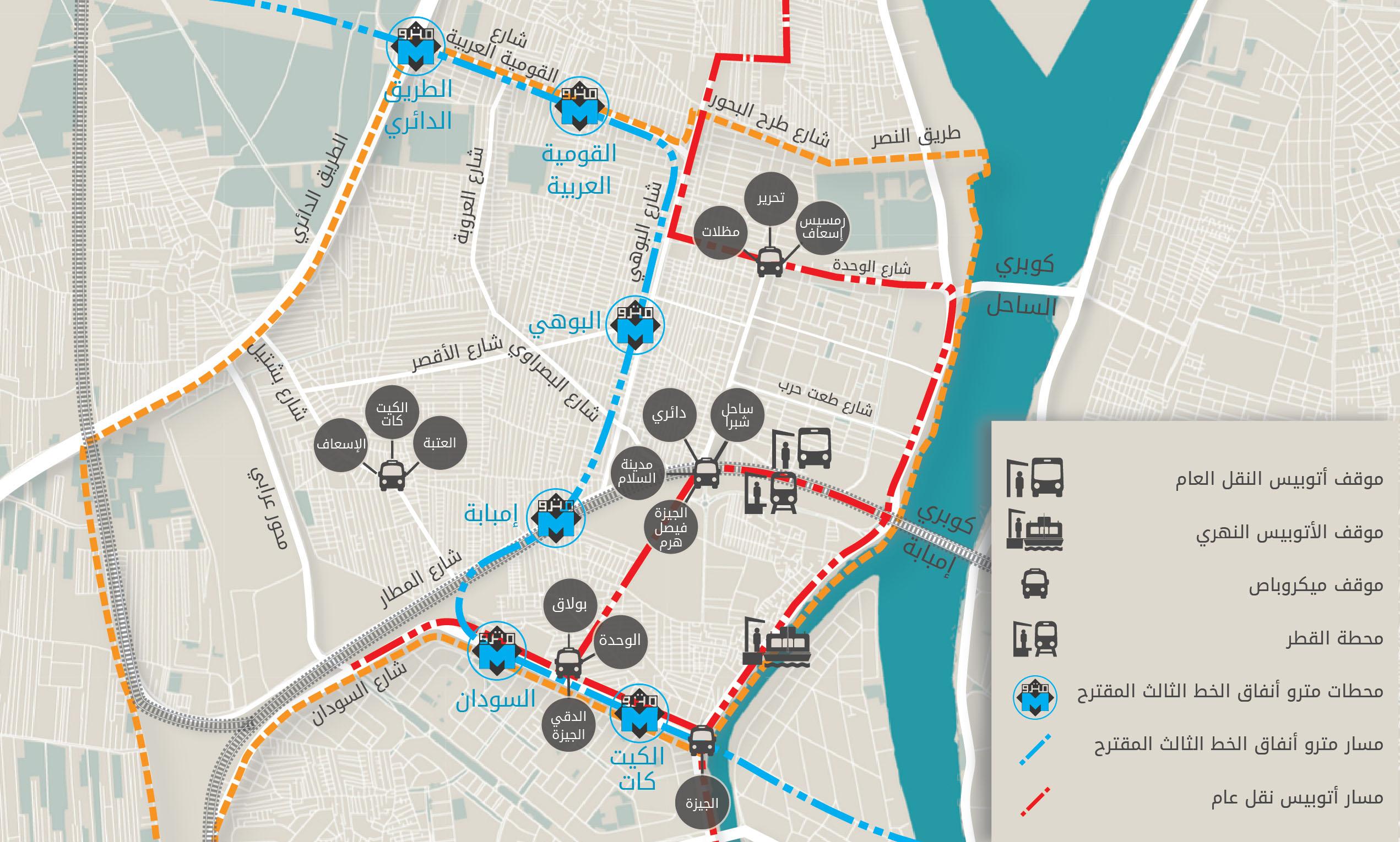 المواصلات في إمبابة