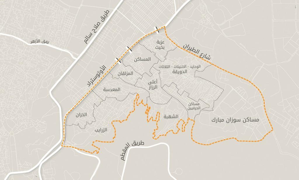 مناطق منشية ناصر كما يعرفها أهلها.