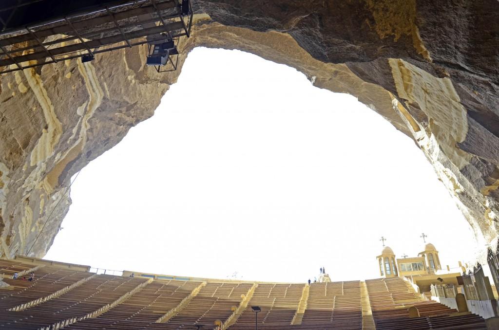 المسرح الكبير بدير الأنبا سمعان. تضامن 2015