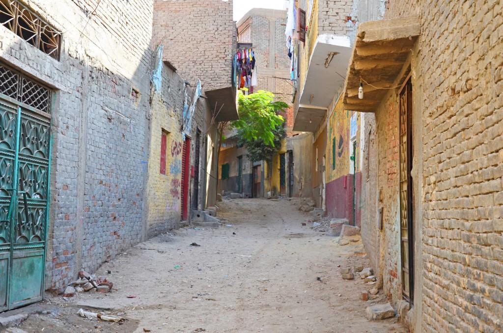 أحد شوارع منطقة الرزاز. تضامن 2015