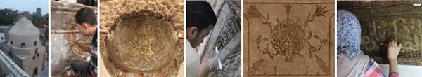 أعمال الترميم التي يقوم بها فريق مبادرة الأثر لنا في منطقة الخليفة. مبادرة الأثر لنا، بدون تاريخ.