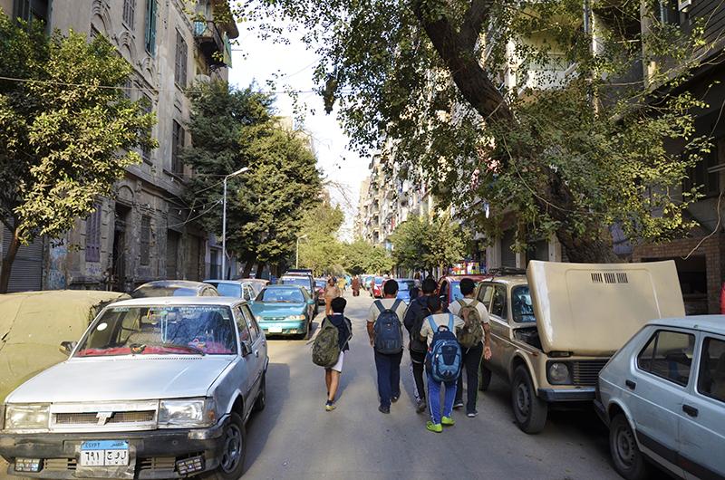 شوارع الظاهر © تضامن
