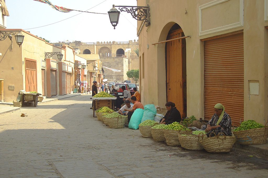 سوق البصل والليمون (المصدر: تضامن)