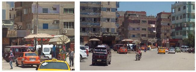 al-Salām Square (present). Source: Tadamun 2016