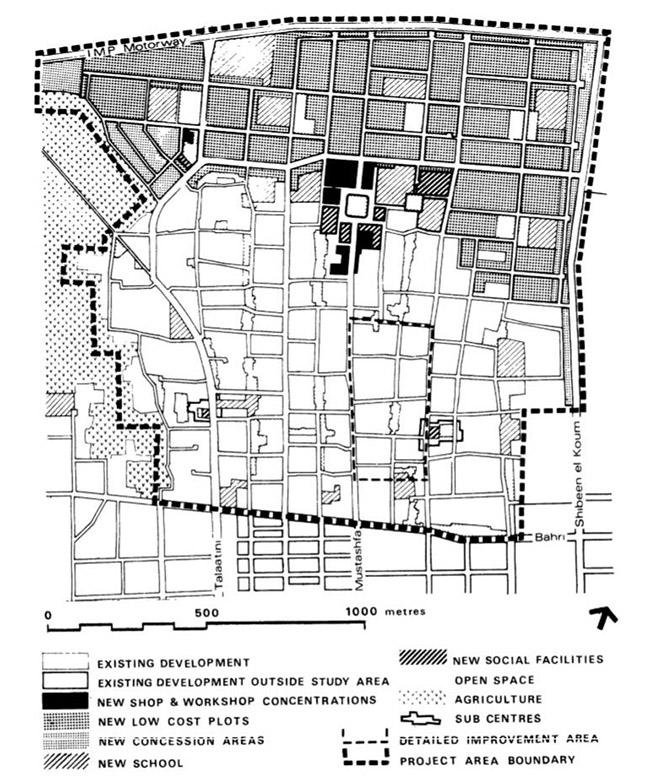The al-Salām district plot. Source: Davidson 1981