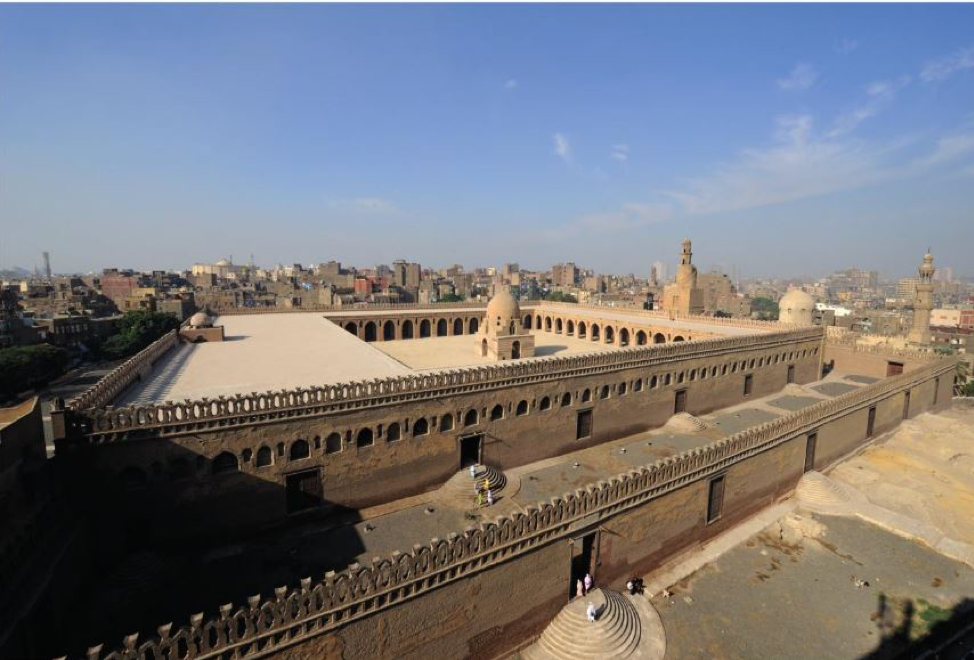 Ibn Ṭūlūn Mosque, one of the most important and oldest Islamic monuments in Egypt. Source: Swelim 2015