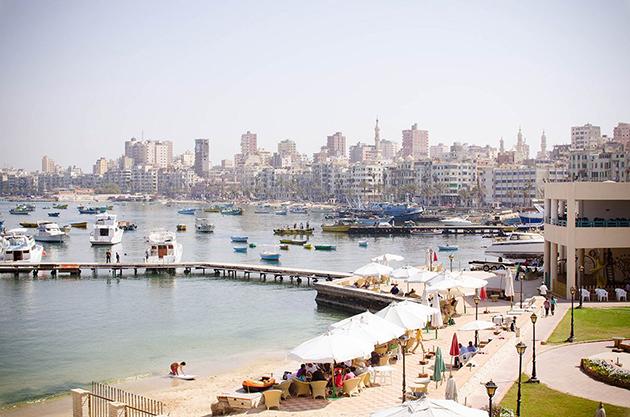 الشكل 10: منظر لحي بحري سنة 2013 (المصدر: Niko Six)